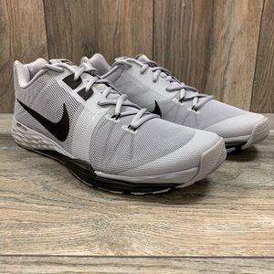 Nike Prime Iron DF Training Shoes Wolf Grey Black